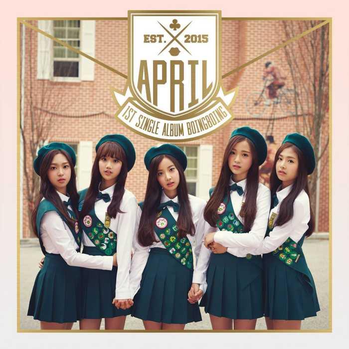 APRIL debut năm 2015