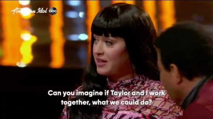 Katy Perry collab Taylor Swift