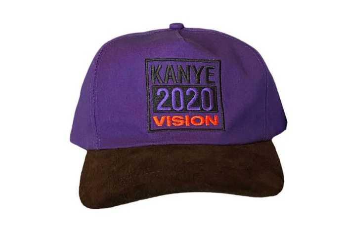 Kanye West bán nón