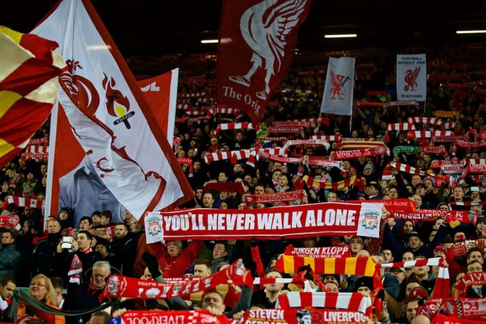 """""""You'll Never Walk Alone"""" Liverpool"""