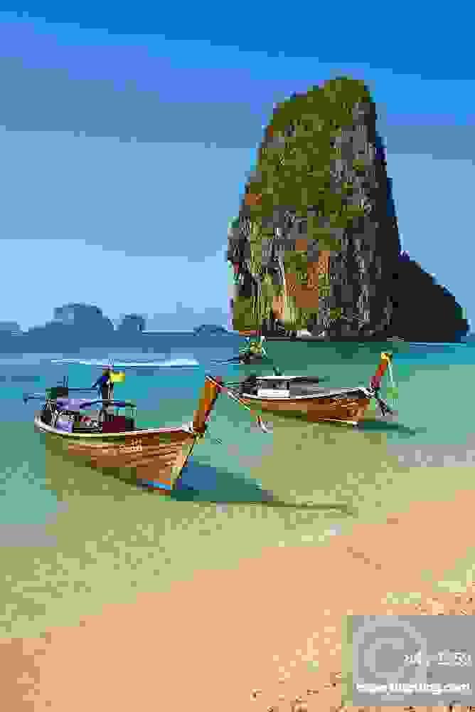 bãi biển Phra Nang của Thái Lan.